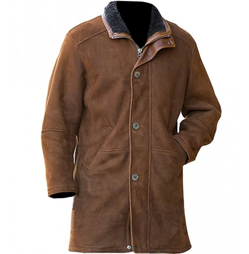 Sheriff Walt Longmire (Robert Taylor) Trench Coat Jacket
