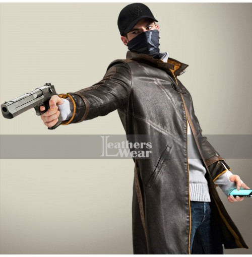 Watch Dogs Game Aiden Pearce Coat