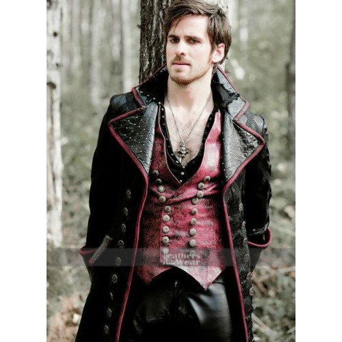 once upon a time captain hook shirt Once upon a time fans won't be seeing the same versions of captain hook and regina in the upcoming seventh season-- and we finally have a better sense of who their beloved characters will be.