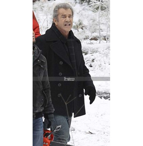 Daddy's Home 2 Mel Gibson (Kurt Mayron) Wool Jacket Coat