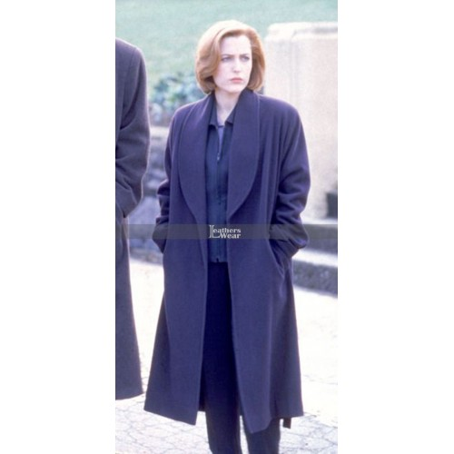 The X-Files Gillian Anderson Dana Scully Coat
