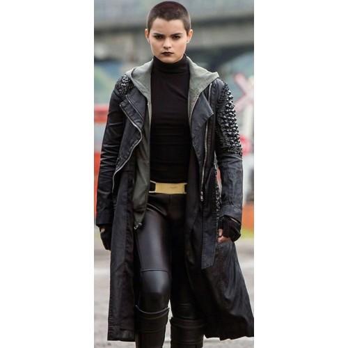 Deadpool Brianna Hildebrand (Negasonic Teenage) Coat