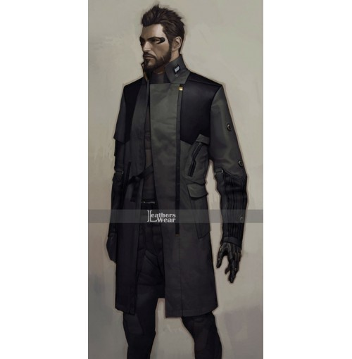 Deus Ex Mankind Divided Adam Jensen Trench Coat