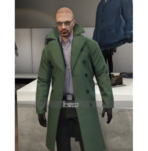 Grand Theft Auto V Maxim Rashkovsky Green Coat