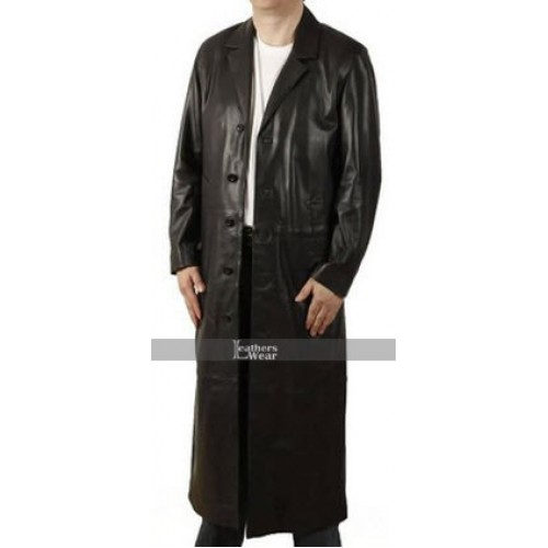 Black Trench Coat Halloween Costume