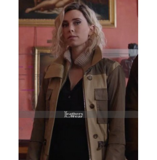 Hobbs and Shaw Vanessa Kirby Hattie Shaw Coat