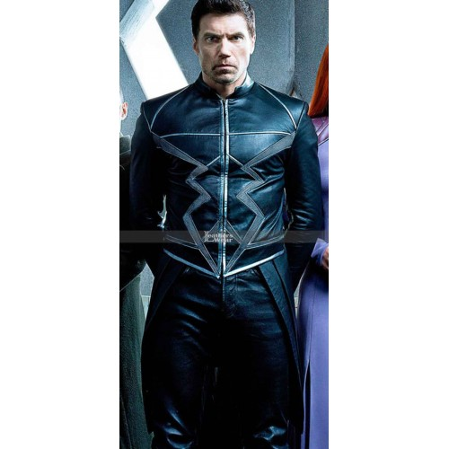 Inhumans Movie Black Bolt (Anson Mount) Trench Leather Coat Costume