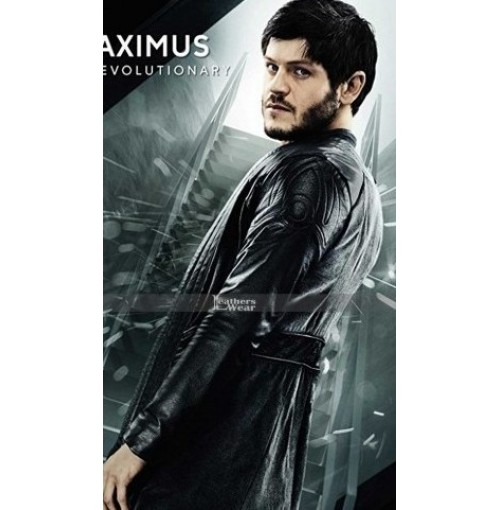 Inhumans Movie Maximus (Iwan Rheon) Trench Leather Coat Cosplay Costume