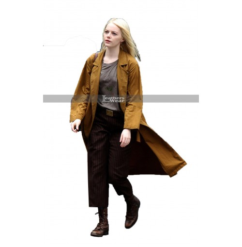Emma Stone Maniac Long Coat