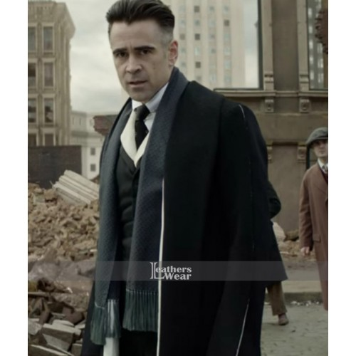 Fantastic Beasts Percival Graves Trench Coat