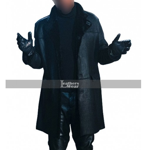 Shaft 2019 Samuel L Jackson Black Coat