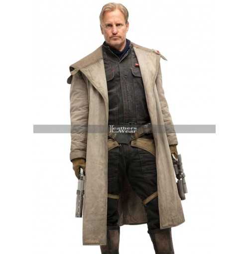 Solo A Star Wars Story Tobias Beckett Coat by Woody Harrelson