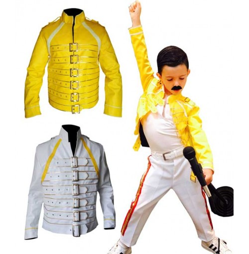 Freddie Mercury Queen Wembley Concert Costume Jacket Kids