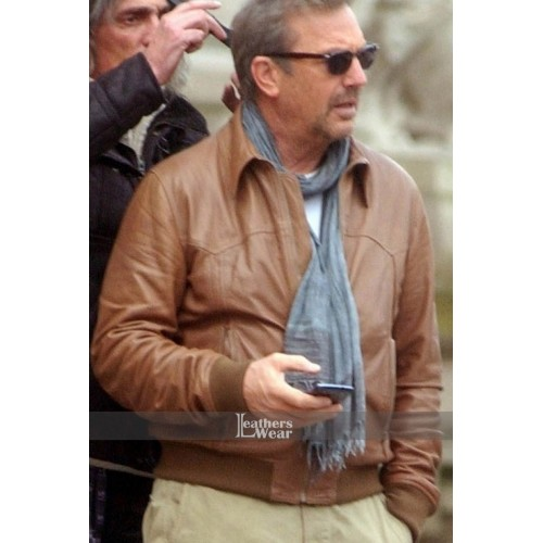 3 Days To Kill Kevin Costner (Ethan Renner) Jacket