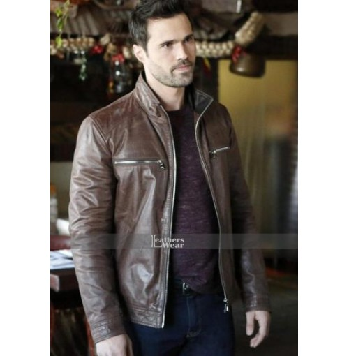 Agents of Shield S3 Brett Dalton (Grant Ward) Brown Jacket