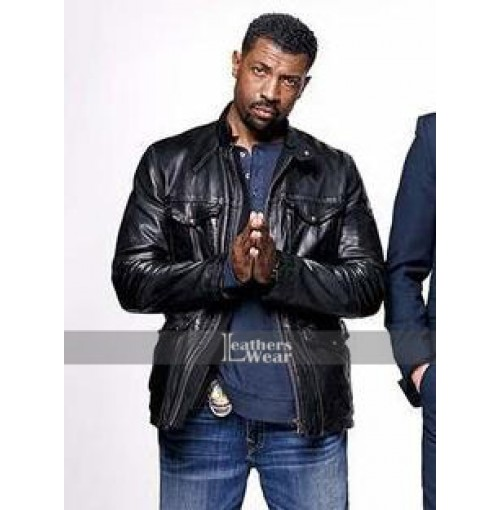 Angie Tribeca Deon Cole (DJ Tanner) Black Jacket