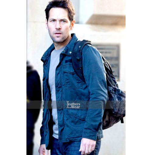 Ant Man Scott Lang Blue Jacket