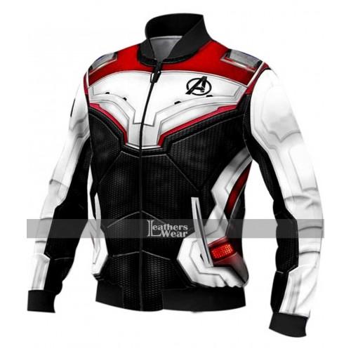 Avengers Endgame Costume Quantum Realm Biker Jacket