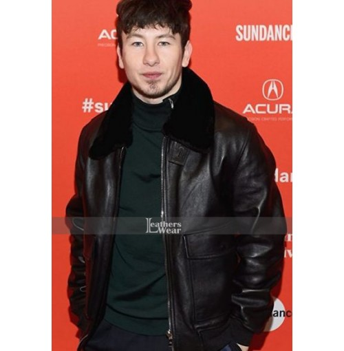 Barry Keoghan American Animals Spencer Reinhard Leather Jacket