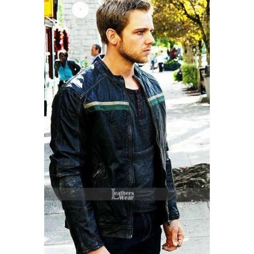 Bates Motel Max Thieriot (Dylan Massett) Biker Jacket