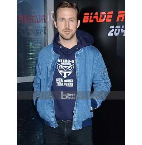 Blade Runner 2049 Ryan Gosling Denim Jacket