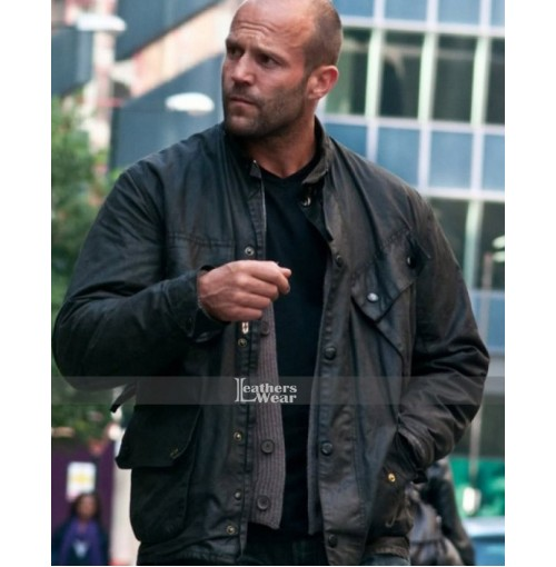 Blitz Jason Statham (Tom Brant) Leather Jacket