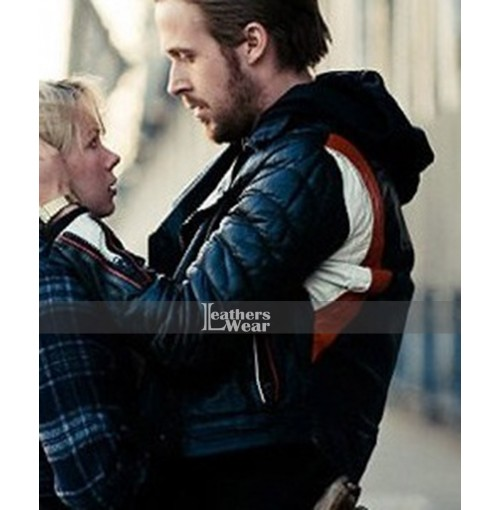 Blue Valentine Ryan Gosling (Dean) Biker Leather Jacket