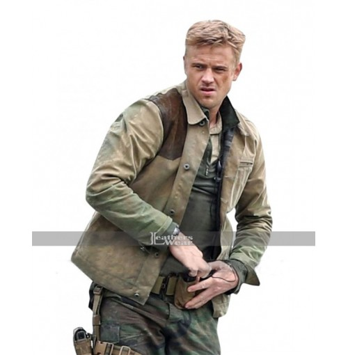 The Predator Quinn McKenna (Boyd Holbrook) Brown Jacket