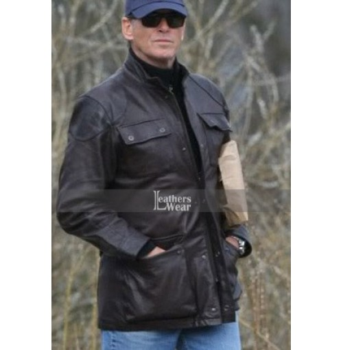 Butterfly On A Wheel Pierce Brosnan Jacket