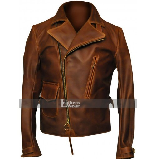 Captain America First Avengers Motorcycle Jacket