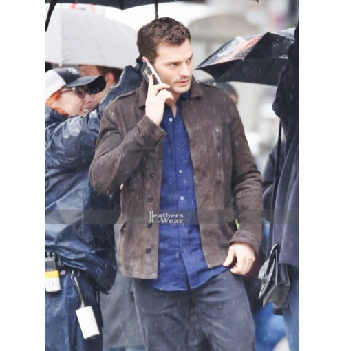 Fifty Shades Darker Jamie Dornan (Christian Grey) Leather Jacket