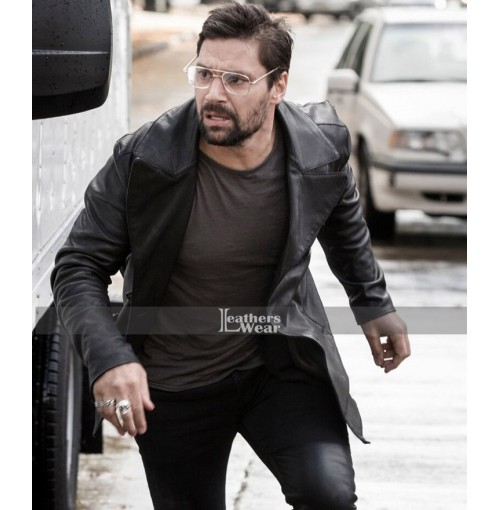 Beta Test Manu Bennett (Creed) Leather Jacket