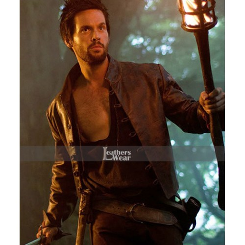 Da Vinci's Demons Tom Riley Brown Jacket