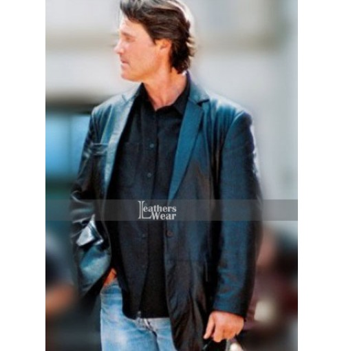 Dark Blue Kurt Russell (Eldon Perry) Jacket