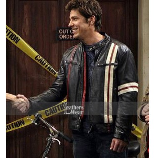 David Underhill | Big Bang Theory Leather Jacket