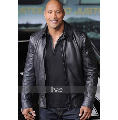 Faster Dwayne Johnson (Driver) Rock Jacket