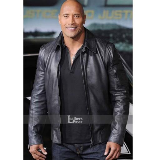 Faster Dwayne Johnson (Driver) Rock Jacket