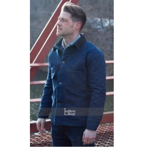 Gotham Ben McKenzie (Commissioner Gordon) Blue Jacket