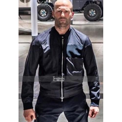 Deckard Shaw Hobbs & Shaw Black Cotton Jacket