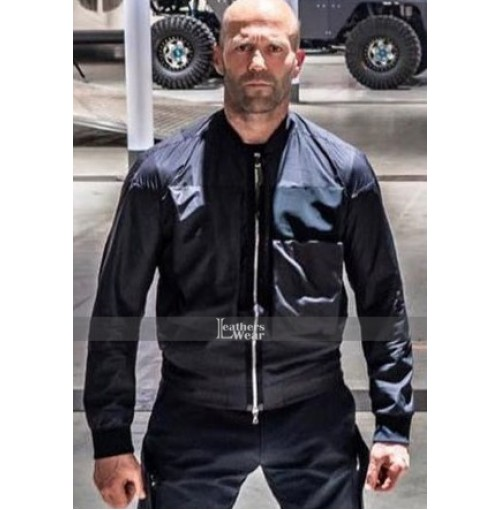 Deckard Shaw Hobbs & Shaw Black Cotton Jacket