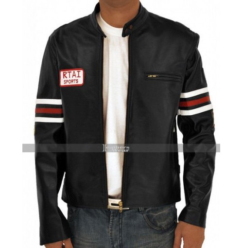 House MD Hugh Laurie (Dr Gregory) Biker Jacket