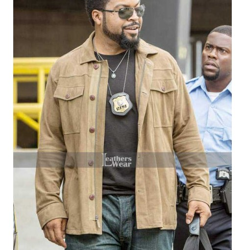 Ride Along Ice Cube James Payton Brown Jacket