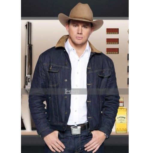 Channing Tatum Kingsman The Golden Circle Statesman Secret Agent Jacket