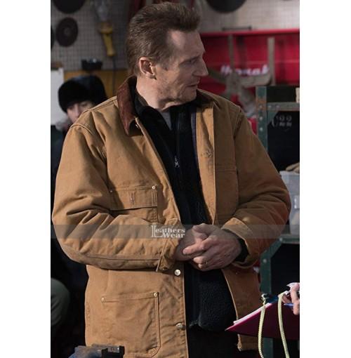 Nels Cold Pursuit Liam Neeson Jacket
