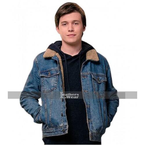 Love, Simon Nick Robinson (Simon Spier) Denim Jacket