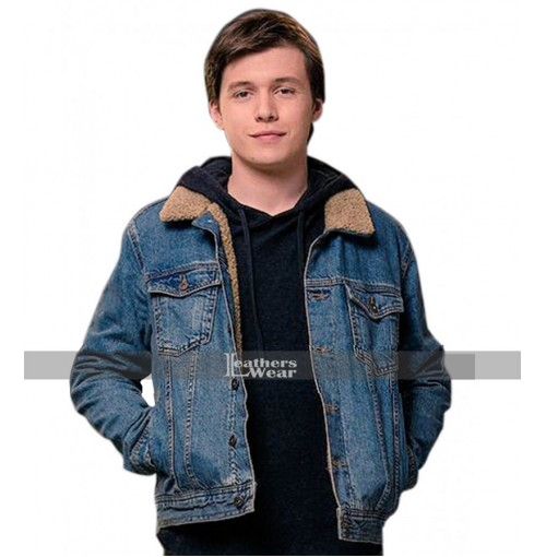 Love, Simon Nick Robinson (Simon Spier) Denim Jacket