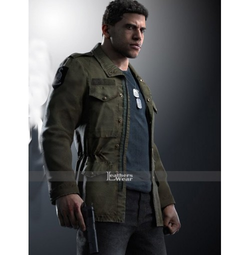 Lincoln Clay Mafia III Alex Hernandez Army Jacket