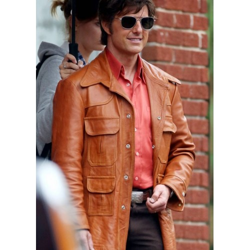 American Made Mena Tom Cruise (Barry Seal) Jacket
