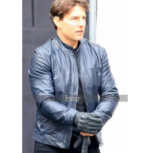 Mission Impossible 6 Tom Cruise (Ethan Hunt) Biker Jacket