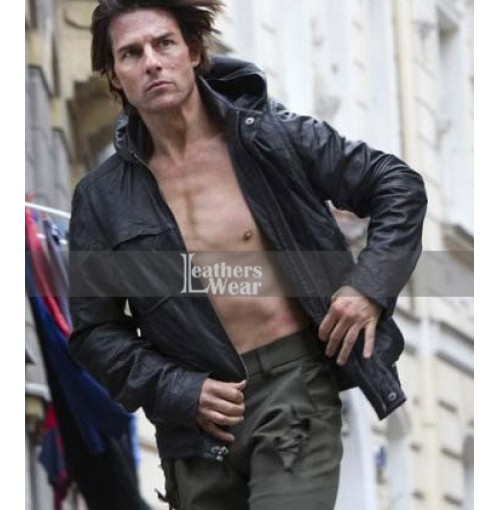 Tom Cruise Mission Impossible Ghost Protocol Hooded Jacket